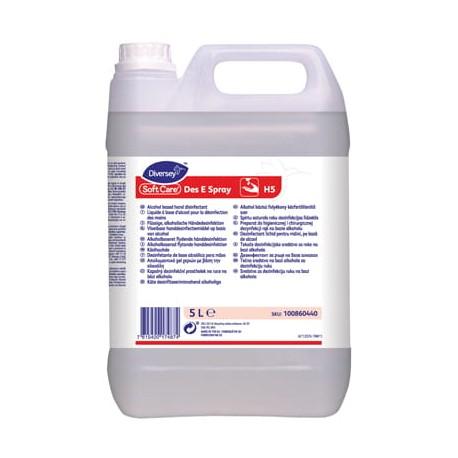 Soft Care Des E spray H5 5l - preparat do dezynfekcji rąk