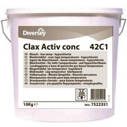 Clax OXY 40C1 10kg - proszek wybielając /diversey/