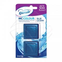 Kostka barwiąca WC a'2 BLUE