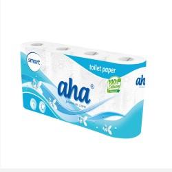 Papier toaletowy AHA SMART a '8 - biały
