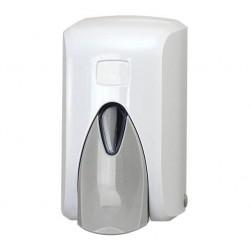 Dozownik do mydła 0,5l biało - szary