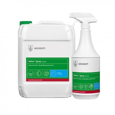 VELOX SPRAY 5l - preparat do dezynfekcji pow.