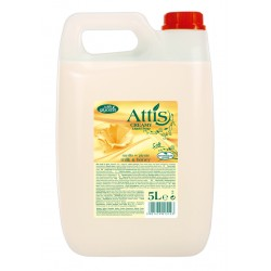 Mydło w płynie 5l - MLEKO I MIÓD ATTIS